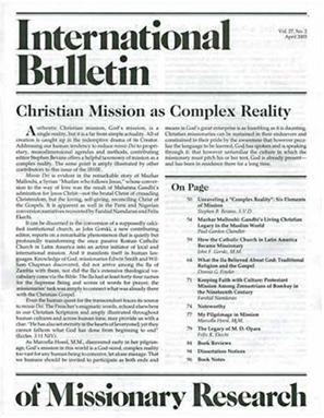 International Bulletin of Missionary Research